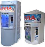 Автоматы для продажи чистой воды.